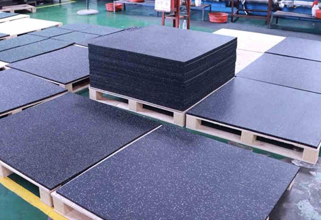 Fitness Floor Laminated Rubber Mats