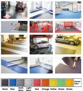 Inside interlocking PVC Tiles for Warehouse Floor