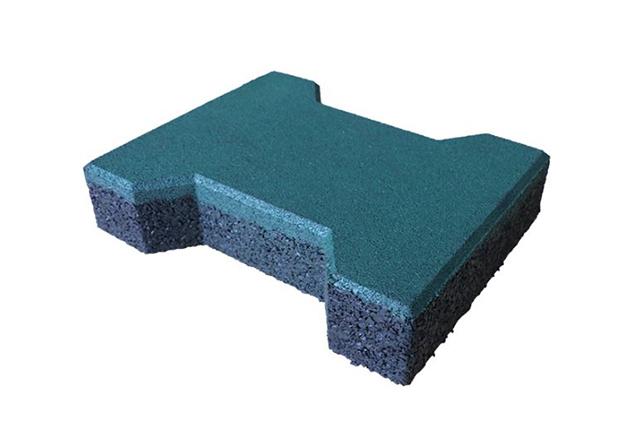 dog bone rubber tile 43mm