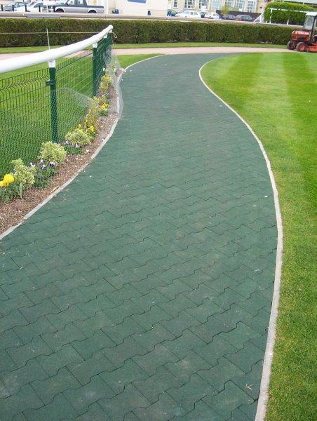 green-dog-bone-rubber-pavers