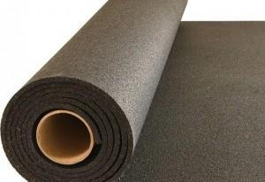 REACH Compliant Rubber Flooring Rolls Gym