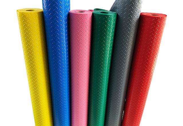 heavy duty PVC rolls floor
