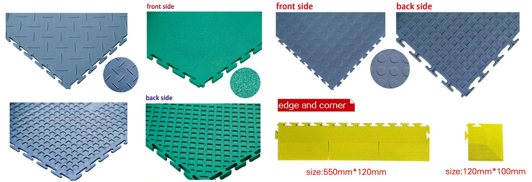 heavy duty industrial PVC tiles