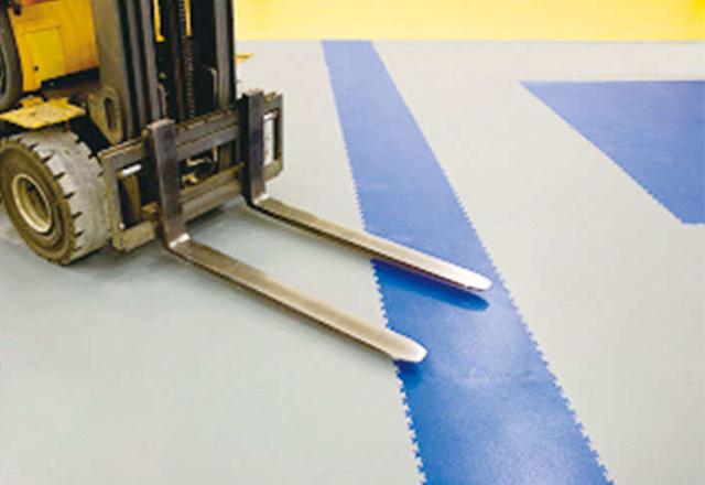 industrial PVC tiles interlocking