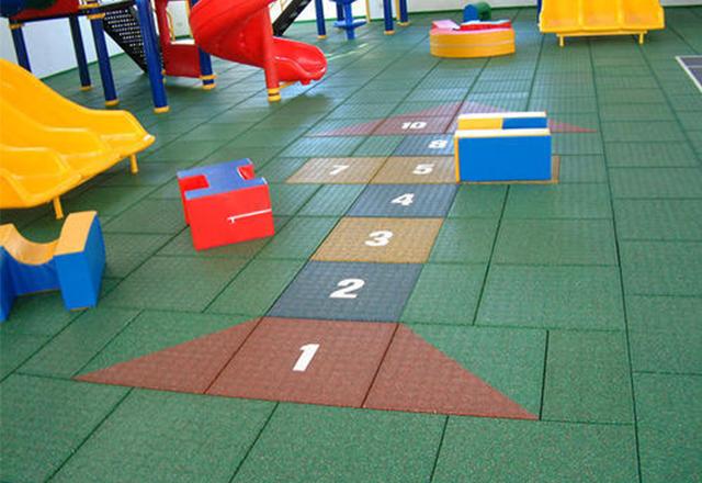 kindgarten rubber floor